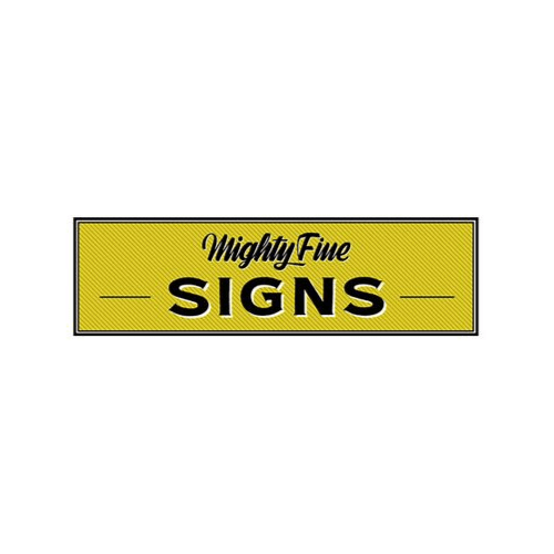 Mighty Fine Signs Logo