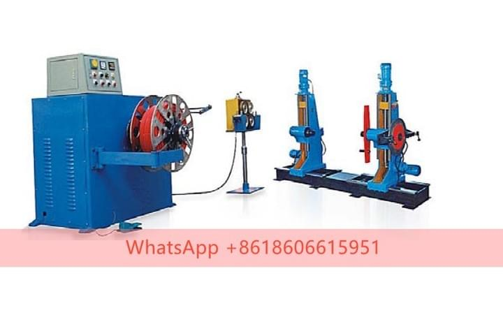 Big Cross-section Semi Automatic Coiling Machine