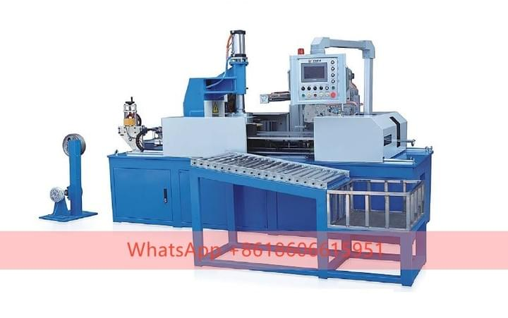 AUTOMATIC PLC COILING AND WRAPPING MACHINE