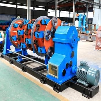 Steel wire&Insulated wires Planetary Stranding Machine from China