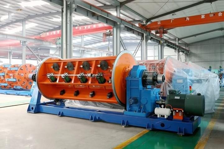 independent motor driving rigid stranding machine of Ningbo Capstaner Technology Co.,Ltd.
