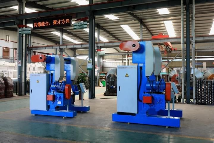 Autommotive cable Portal Type Traversing Take Up Machine
