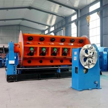 Copper and Aluminum wires&Cable Rigid Frame Stranding Machine from China