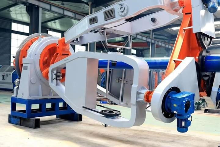 1000/1+3 Bobbin Cable Laying-up Machine