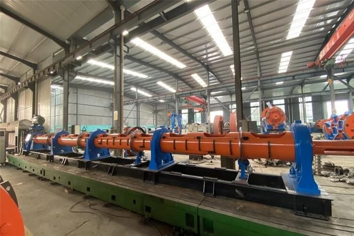 Hysteresis Tension Tubular Stranding Machine 19 Wire