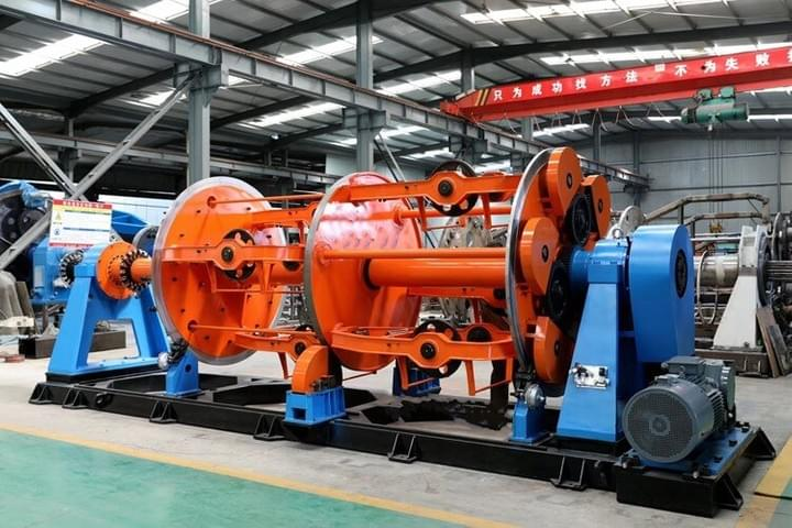 Parallel type Cable Laying-up Machine For Cabling