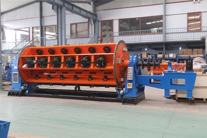 500/1+6+12+18+24+30+36B Rigid Frame Stranding Machine with manual loading system