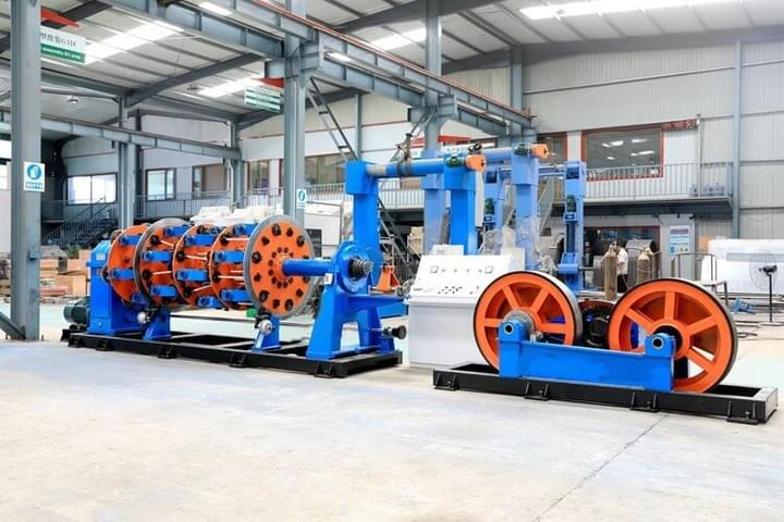 Planetary Laying-up Machine400/24 Bobbin line Speed 150m/min