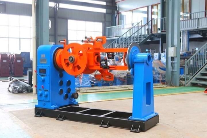 Steel Tape Cable Armoring Machine