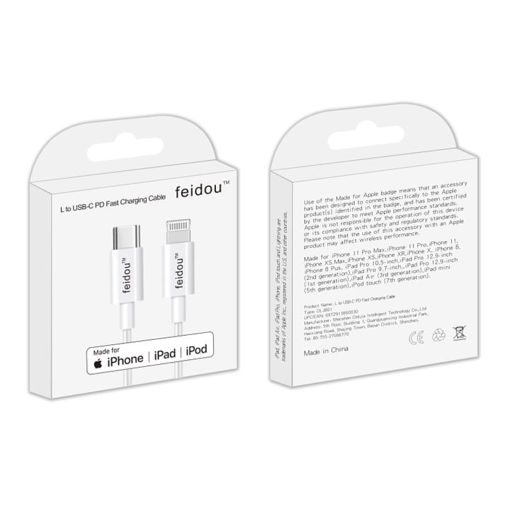MFi Apple Certified Data Cable Wholesale