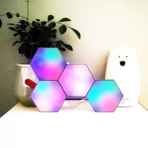 aurora hexagon lights