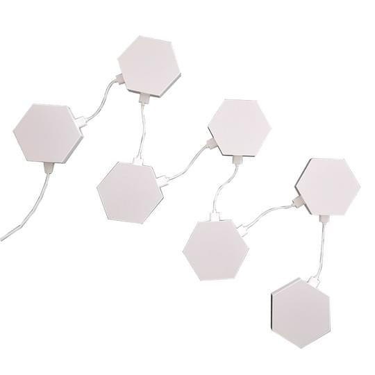 hexagon lights link