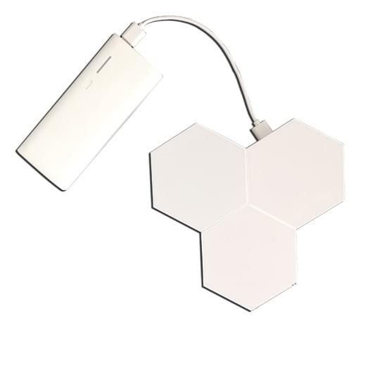 portable hexagon lights