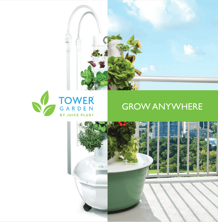Tower Garden Juice Plus Insights