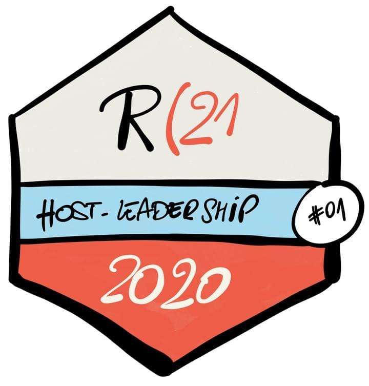 Badge host leadership