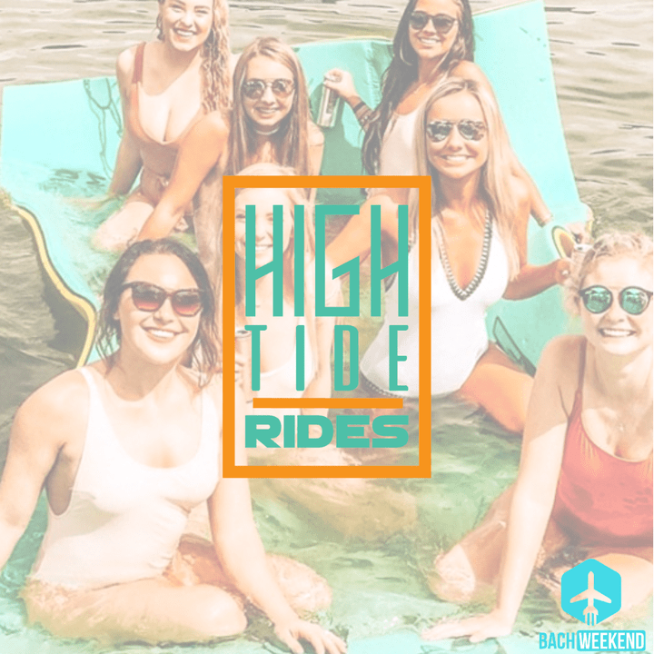 At High Tide Rides, you can rent a private chartered pontoon boat for you and your group and take your bach party outdoors in Nashville!