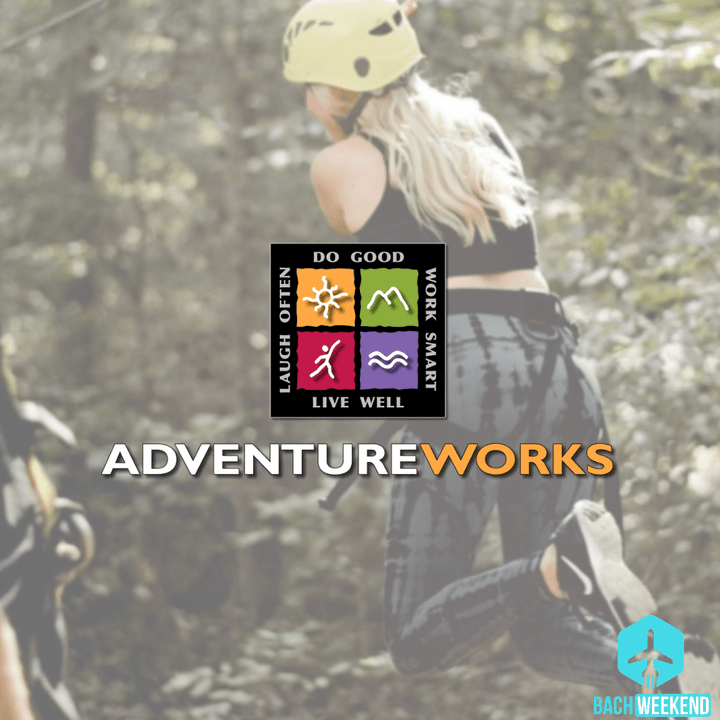 Zip, zip, zip away the day with the crew at Adventureworks! These two zip lining locations- one at Nashville West and the other at Nashville Fontanel- offer thrilling adventures for you and the crew as you can glide through beautiful Tennessee forests and valleys or, for the most adventurous bunch, take on the challenge course together!