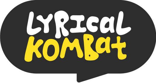 LYRICAL KOMBAT logo and link to Home screen