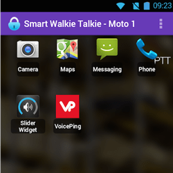 Smart Walkie Talkies Motorola - Android OS allows you to run business apps on your walkie talkie
