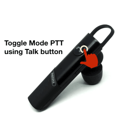 Communicate Fast and Conveniently with PTT Buttons