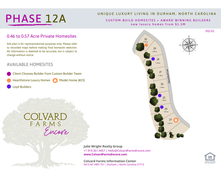 Colvard Farms | Durham North Carolina | Luxury New Homes