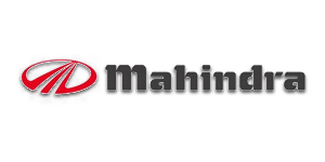 Logo of Mahindra.