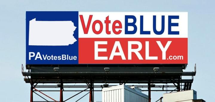 PAVotesBlue.com - VoteBlueEarly.com