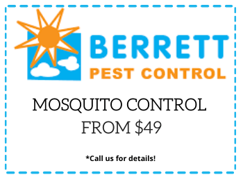 Berrett Mosquito Control Coupon Houston TX