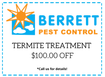 Berrett Termite Control Coupon Dallas TX