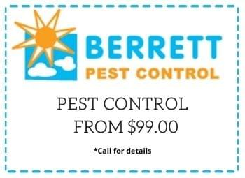 Berrett Pest Control Coupon Dallas TX