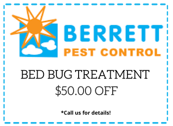 Berrett Bed Bug Treatment Coupon San Antonio TX