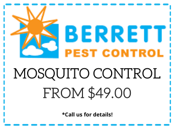 Berrett Mosquito Control Coupon Dallas TX