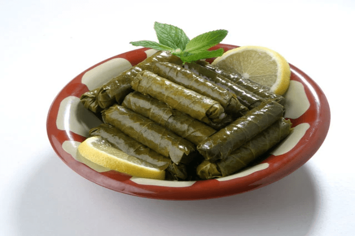 Mamas Hummus - grape leaves, dolmas