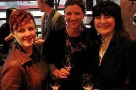 From left: Emily Wines, Shelley Lindgren, Ruth Reichl at the Good Food Arwards. Photo: Flickr/Courtney Cochran