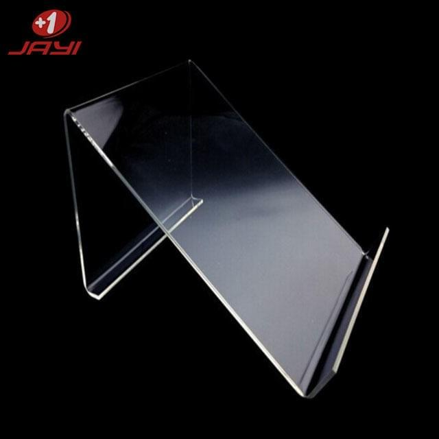 Acrylic tablet display stand: selected acrylic material is solid and transparent