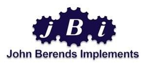 Logo of John Berends Implements.