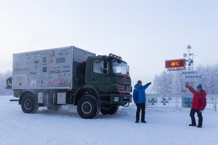 4xtremes expedition truck russia siberia winter