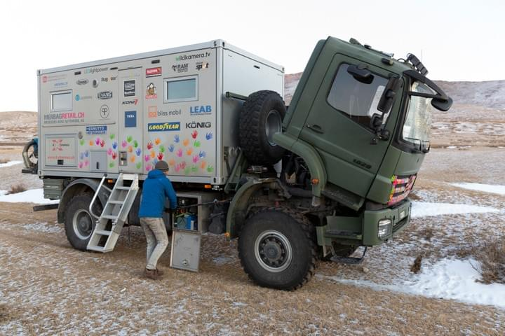 4xtremes 4x4 truck russia mongolia