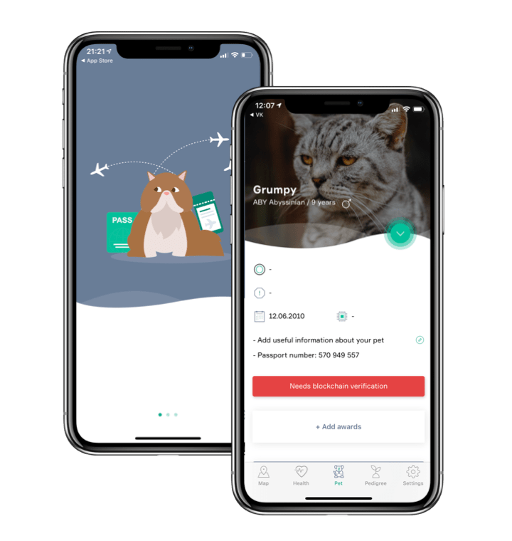 Online Pet passport for keeping important pet data in one safe place - KeepPet App