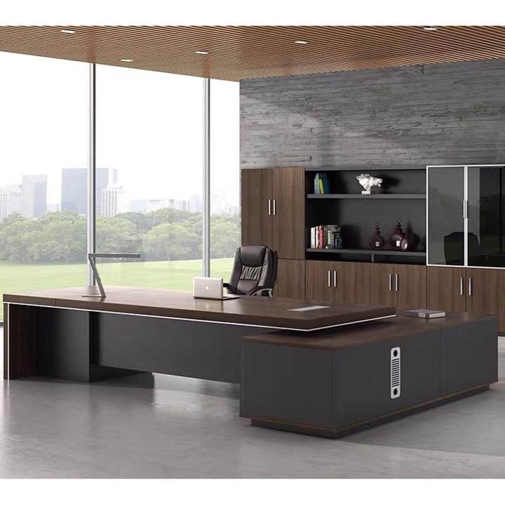 Executive office table and seat