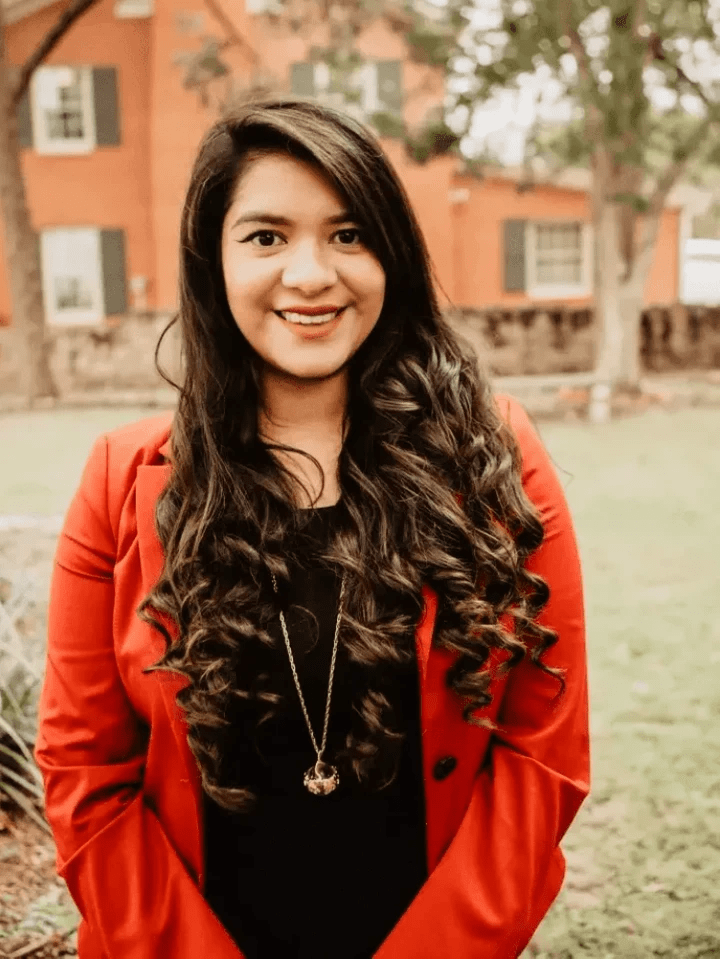 Sara Zapata, Account Coordinator of RMPR, public relations company offices in Dallas and Lubbock