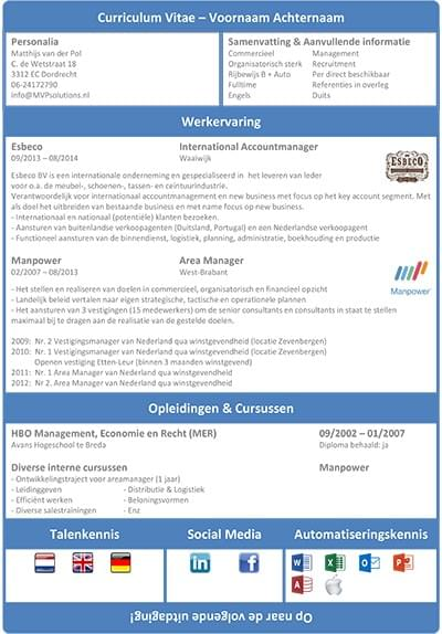 job marketing vacature