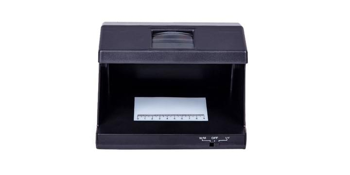 money counting machine and fake note detector