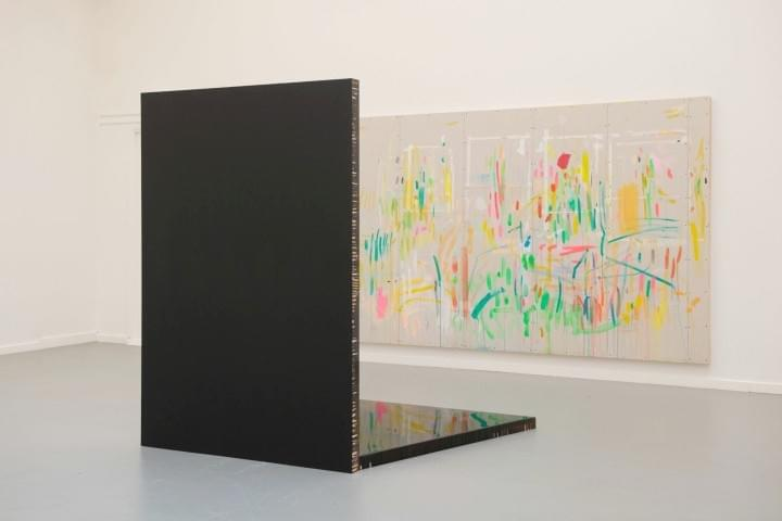 Door Schildersogen 2 / From a Painter's Perspective 2 - Installation view:  Esther Tielemans