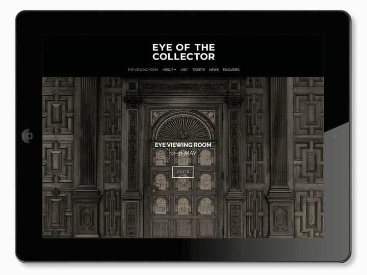 Eye of the Collector - Brand identity, digital design and integrated marketing