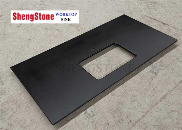 laboratory furniture black epoxy resin  worktop