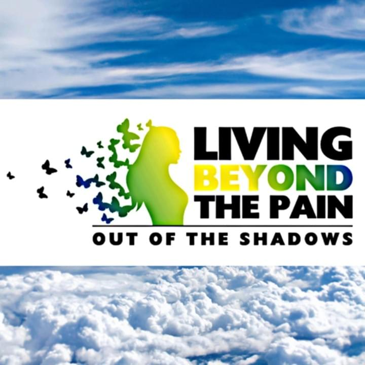 Living Beyond the Pain - Out of the Shadows  Logo