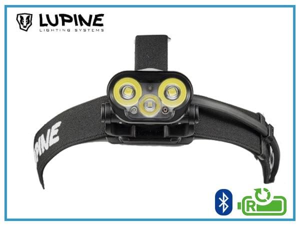 lupine blika rx4, lampe frontale ultra-puissante, lampe frontale rechargeable, lampe frontale vélo, lampe frontale VTT, lampe frontale running, lampe frontale trail,
