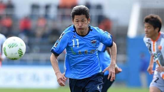 Former Japan striker Kazuyoshi Miura, who will turn 51 next month, renewed his contract with Yokohama FC on Thursday, extending his record as the oldest player in the J-League.