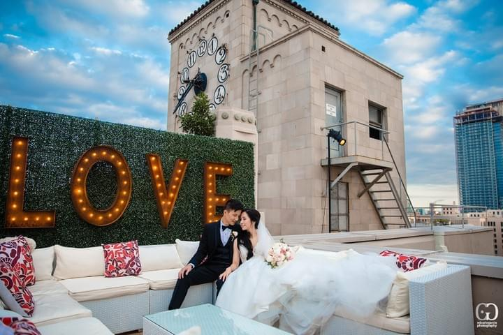 bay area wedding photographer oviatt penthouse downtown la